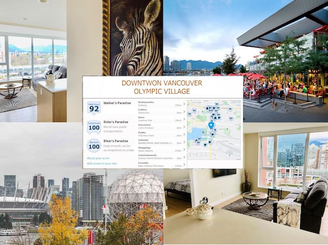 Vancouver Olympic Village - Family Friendly