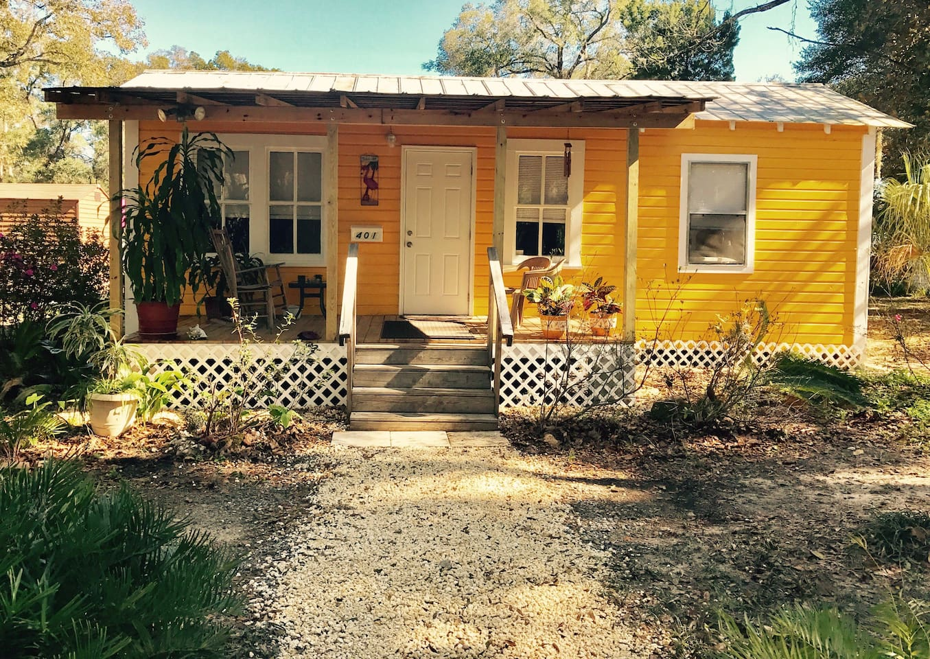 The Little Yellow House - Cottages for Rent in Ocala, Florida ...