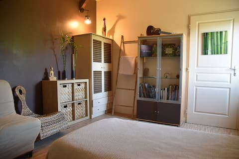 Chambre individuelle à Amboise