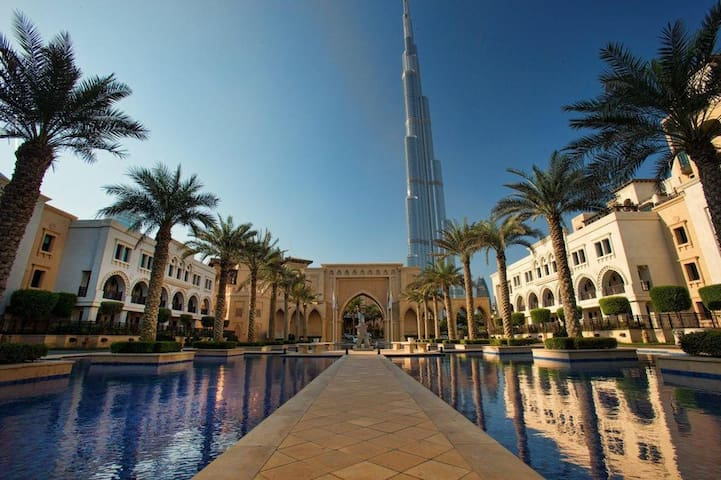 Private room with Burj Khalifa View - Dubai - Apartamento
