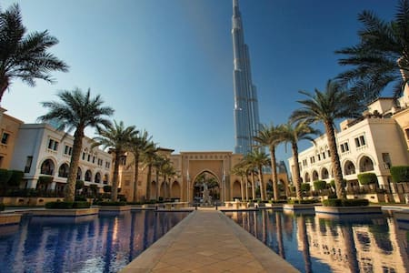 Private room with Burj Khalifa View - Dubai
