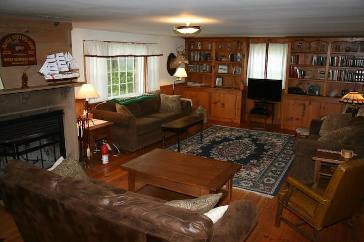 7 BR on Tug Hill Snowmobile Trails - Copenhagen