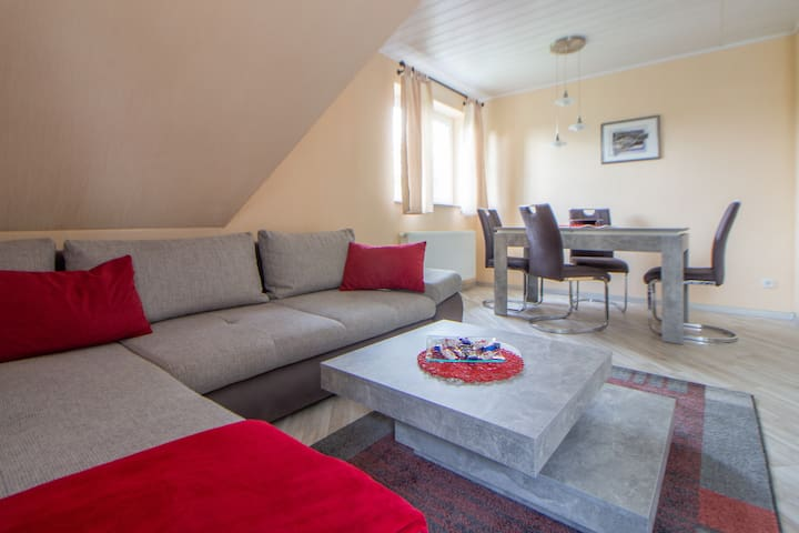 Apartment for 4 people near Berlin