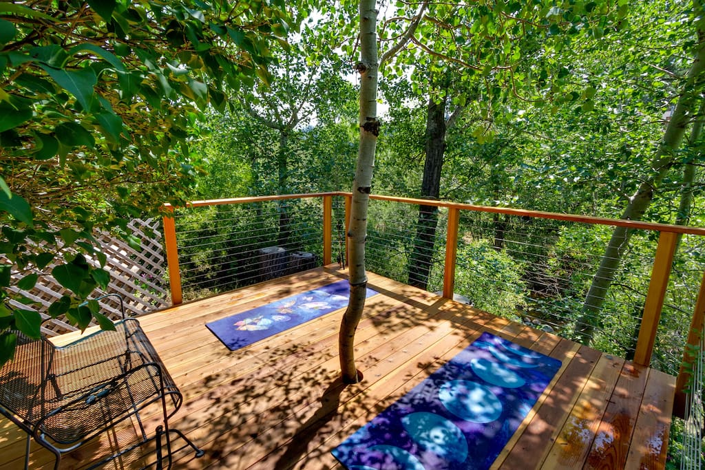 Yoga/Dining Deck (suitable for sleeping)