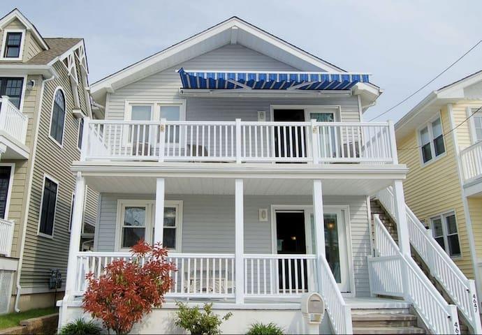 Quaint & Cozy 3BR Beach House - Ocean City - Townhouse