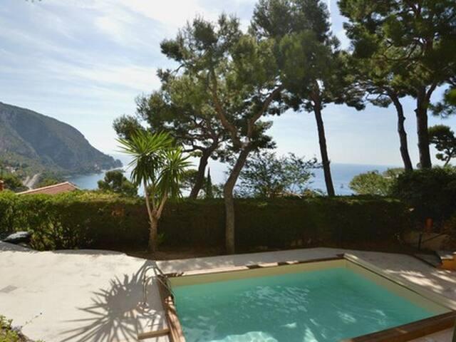 Stunning Villa Sea View with Pool close to Nice - Èze - Villa