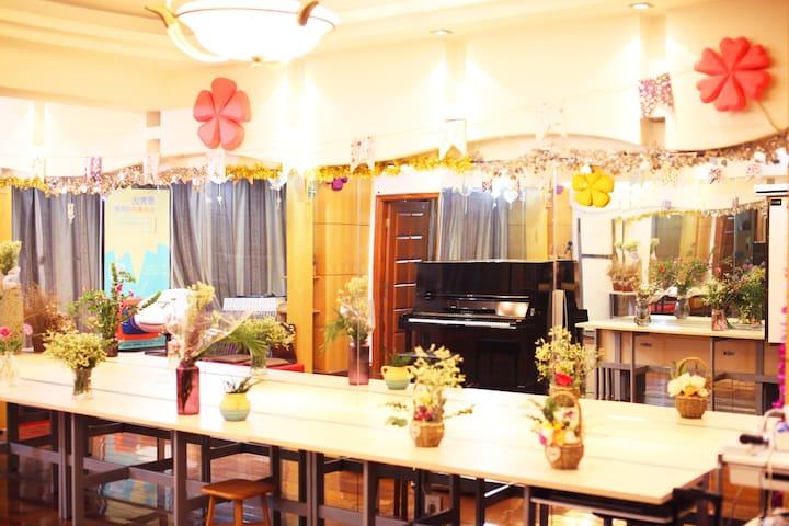 温馨经济床位·带钢琴和图书馆 - Nanjing - Apartament