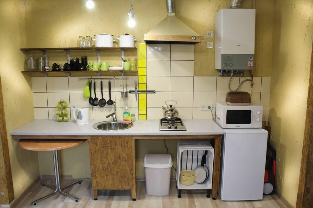 невеличка кухня kitchenette