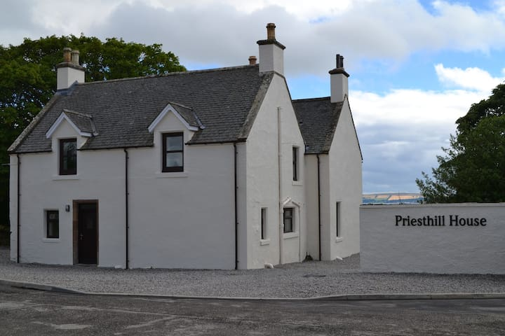 Priesthill Farmhouse - Delny - Delny