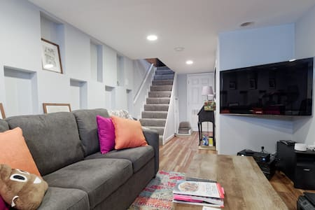 Federal Hill Rowhome Private Basement