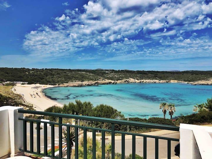 Primera linea de mar y playa, piscina y terraza