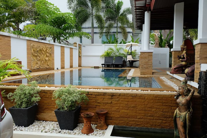 kamala Nathong house,3 Bedroom with private pool. - Kammala - Villa