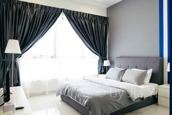 Stylish and Cozy Space °Long Stay up to 6 mths°