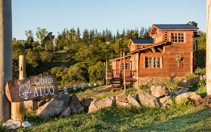 ATUQ, Cabaña #2. Experiencia de campo en la sierra