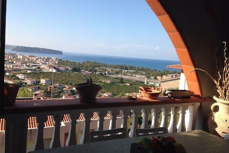 Villetta Panoramica vista mare - Praia A Mare - Reihenhaus