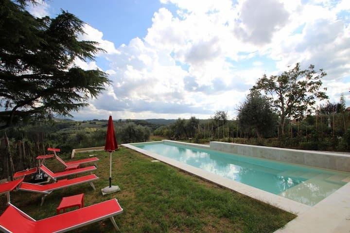 Villa Matteotti - Montaione (Province of Florence)