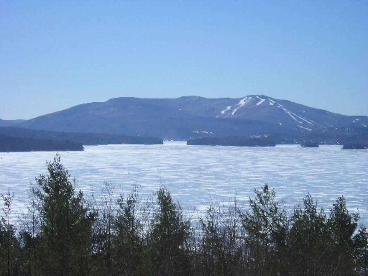 Three miles from Mount Sunapee