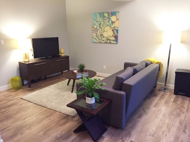 New Modern Suite - Close to Whyte Ave and Downtown