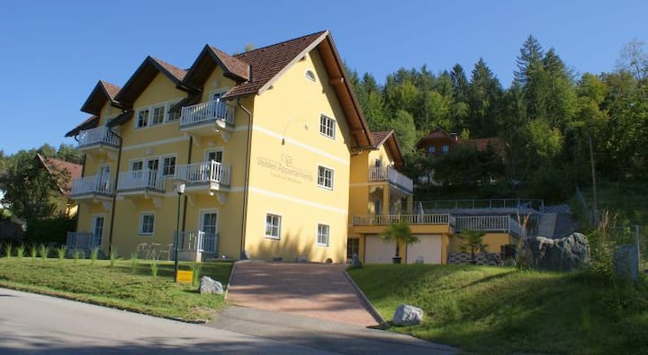 Seebrise Velden - only 500 meter from lake!