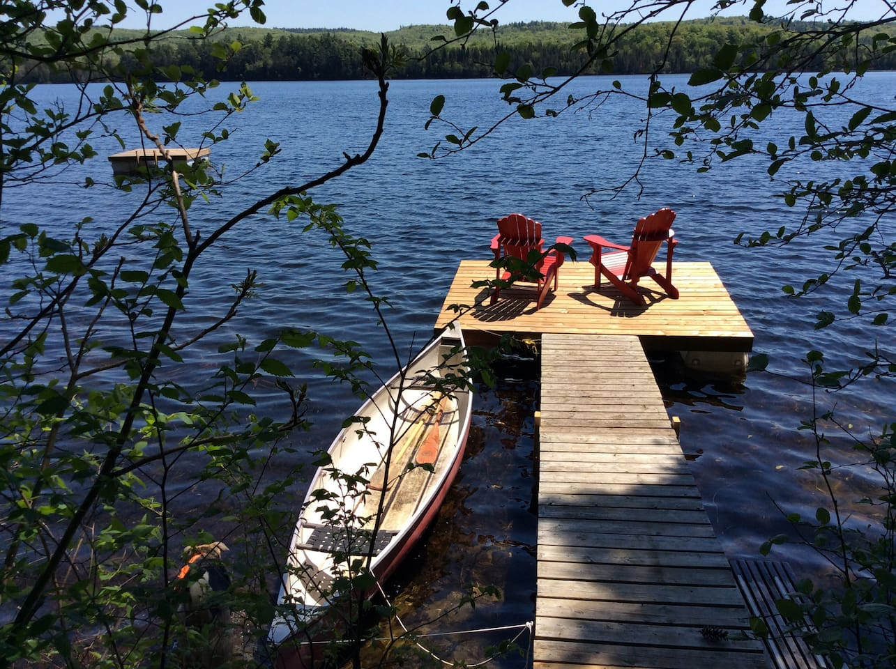 Your private dock and raft.