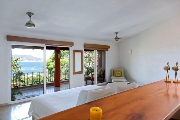 Casa Feliz 9 hermosa vista al mar de Ixtapa