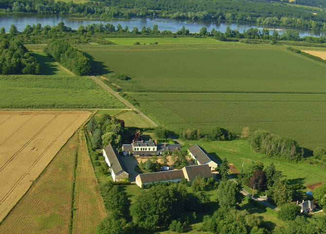 Dans une ancienne ferme du château de Sully/Loire - Sully-sur-Loire - Rumah