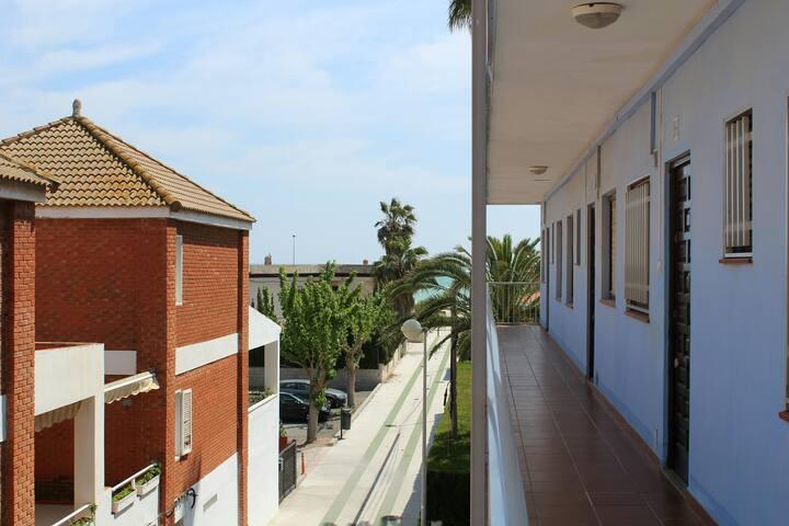 Cozy apartment near the Mediterranean sea.