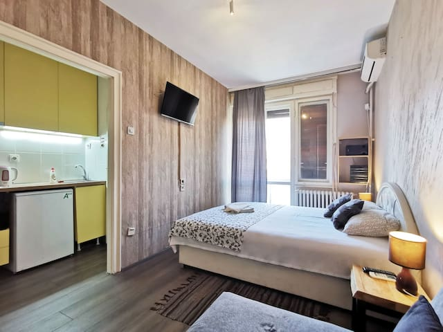 Studio apartment in heart of Belgrade