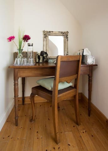 Your desk / dressing table in your bedroom.