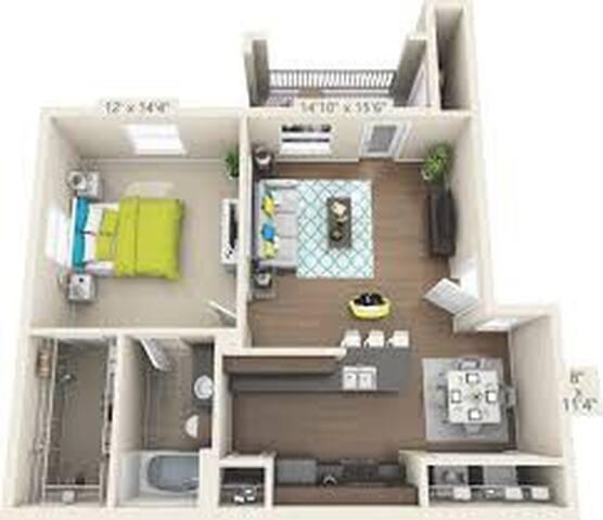Apartment 1221