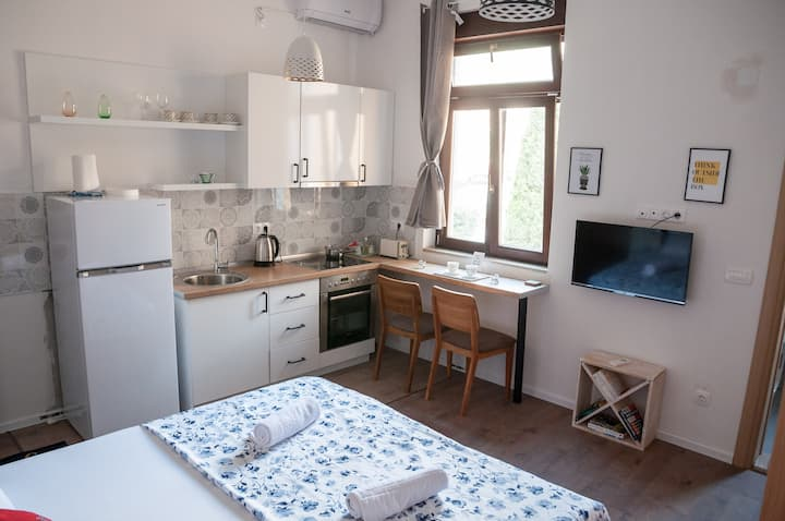 Checkpoint apartment II in the heart of Mostar