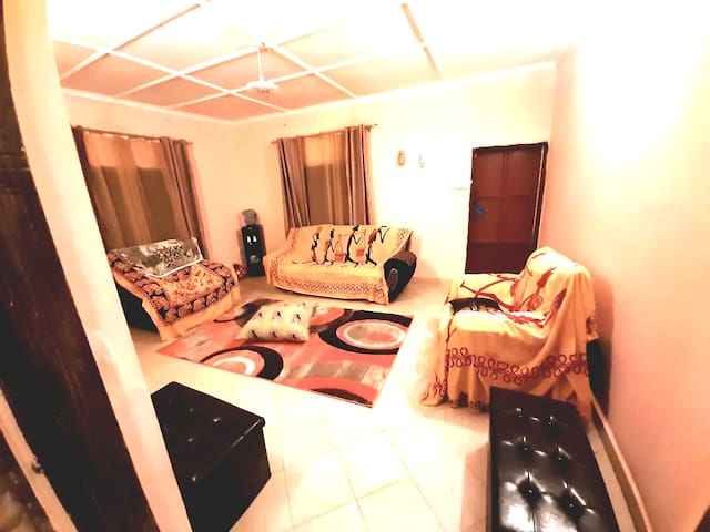 Villa situated 15 minutes walk from the beach.