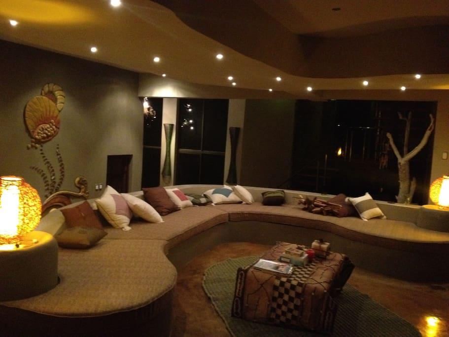 Bottom living room