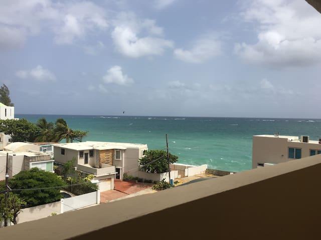 New 1bed 1 bath- Ocean Park Beach -Sleeps 4 - San Juan - Apartamento