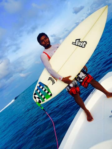 Beach Heaven Maldives - B&B SURFING OFFER