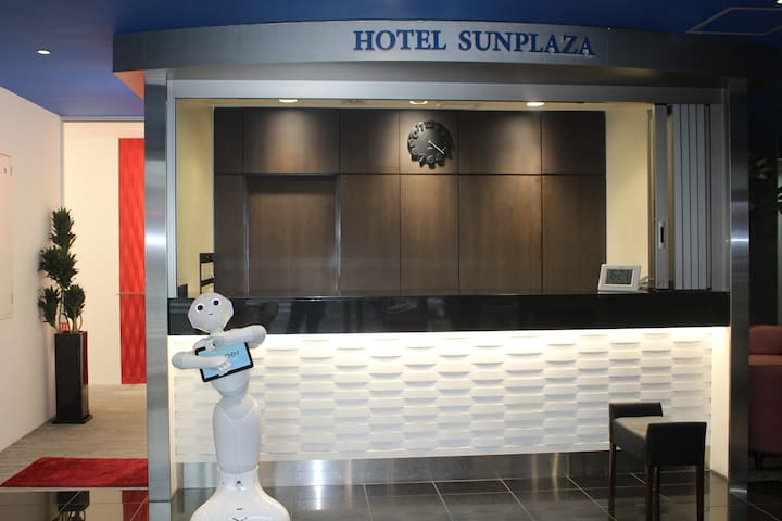 【Hotel SUNPLAZA】Western style single non smoking①
