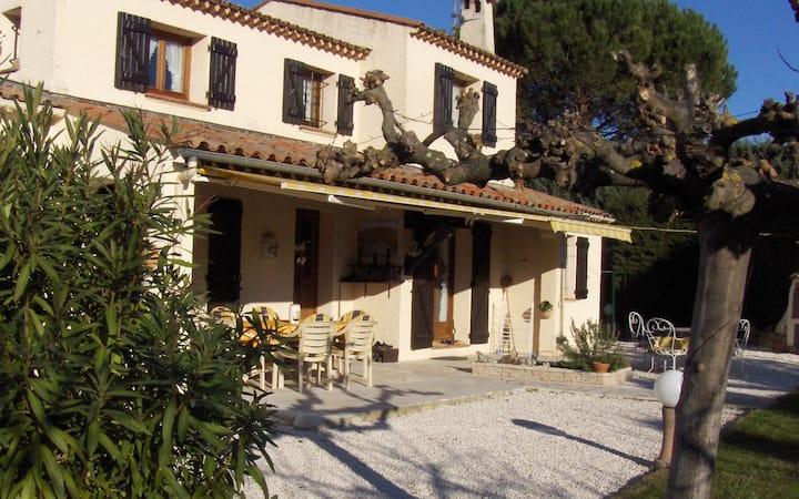 La villa au Mas du Rocher