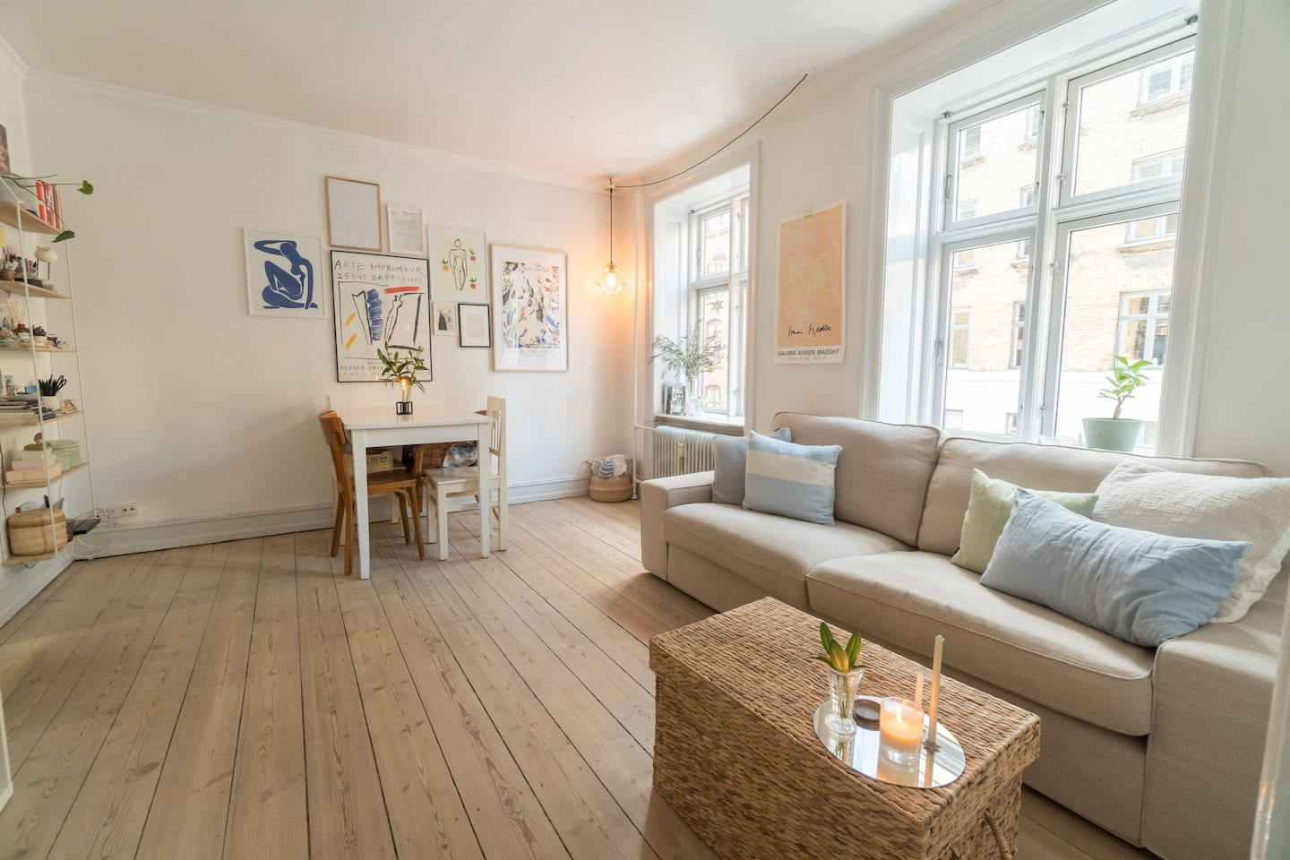 Bright and cosy 2-bedroom appartement.