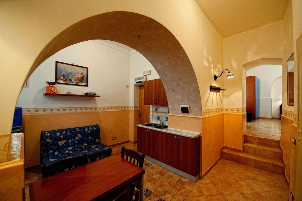 Interno appartamento a piano terra