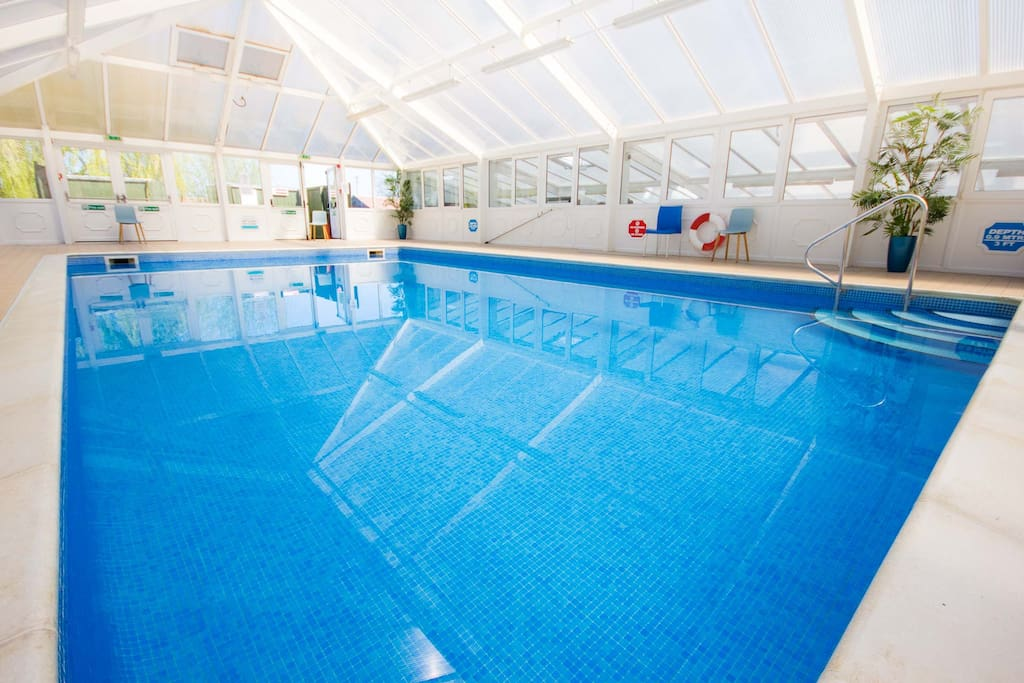 Free access to resort pools