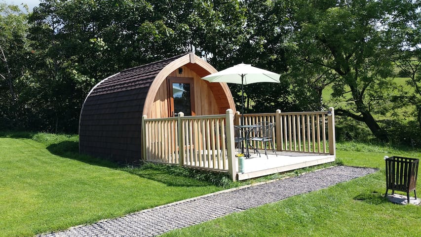 "Howgills Hideaway Glamping pods - ""Fell Head"""
