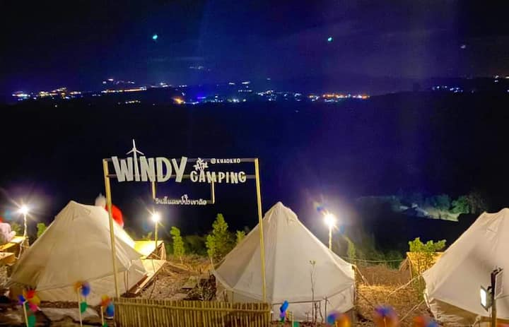 WINDYcamping / zone A (พัก2-3คน)