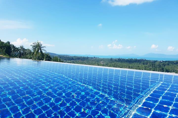 Sea View Villa Myna ~ The Hidden Hilltop Paradise