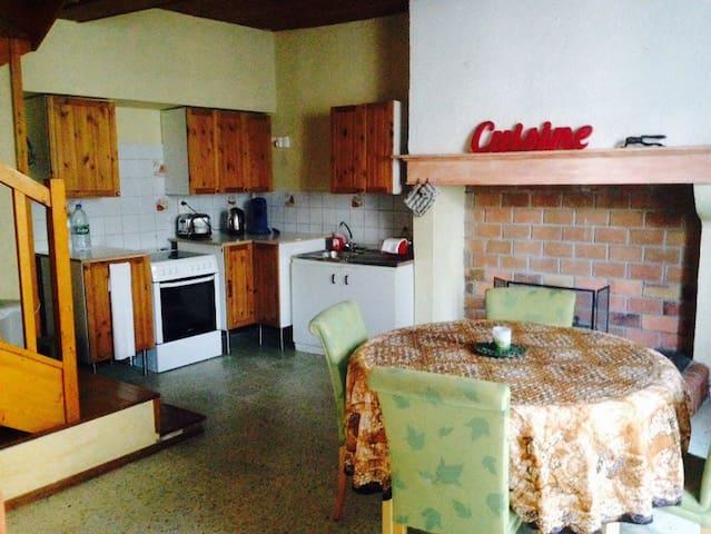 La Peyre Saint Georges Duplex - Hèches - Casa
