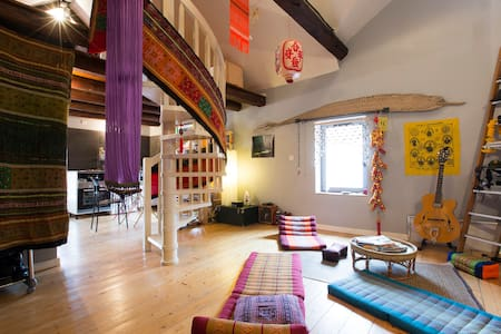 Asian Artistic and cosy style - Annecy - Huoneisto