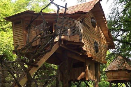 Cabane perchée A l'Orée - Haulmé - Cottage