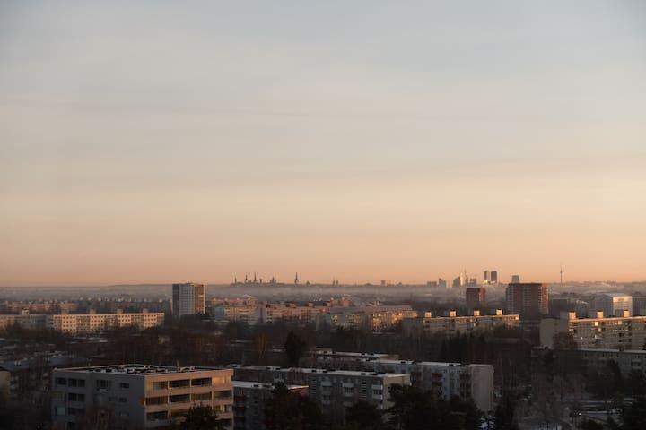Private room, magnificent view - Tallinn - Wohnung