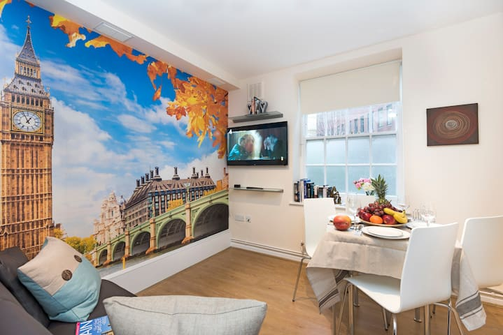 Cozy Refurbished Flat Westminster - London - Apartemen