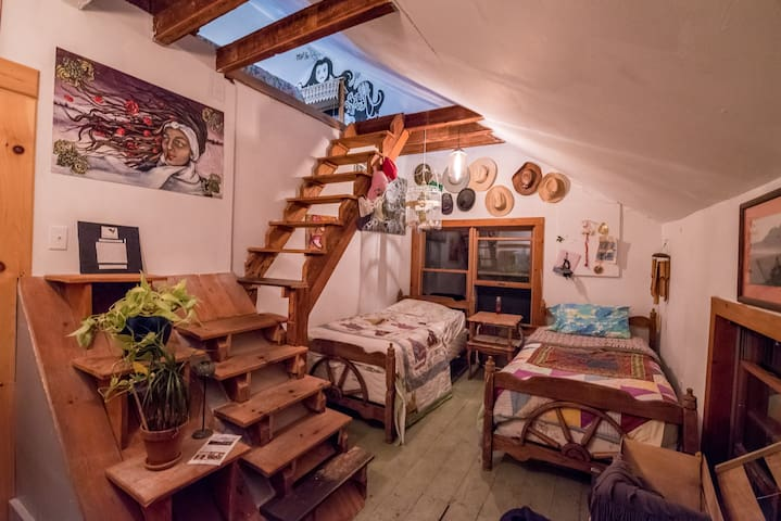 Split-Level Loft at Better Farm