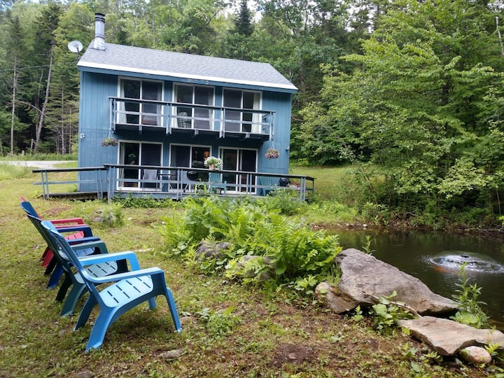 Forest Mountain Chalet- Pond View and Access